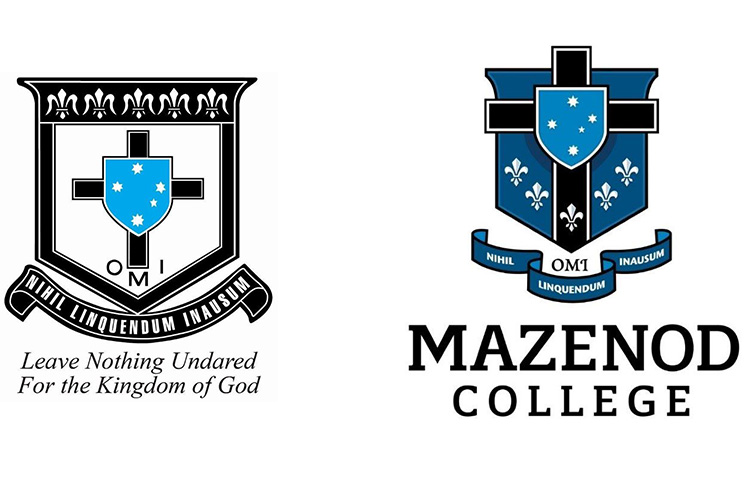 The Mazenod Crest from 1967 to 2017